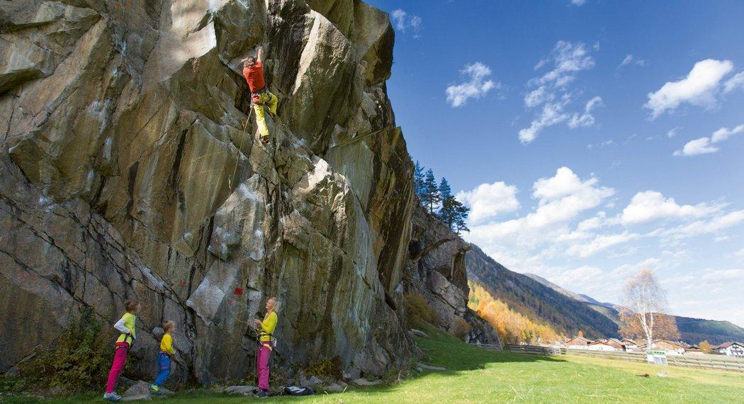 Kletterurlaub im Ötztal