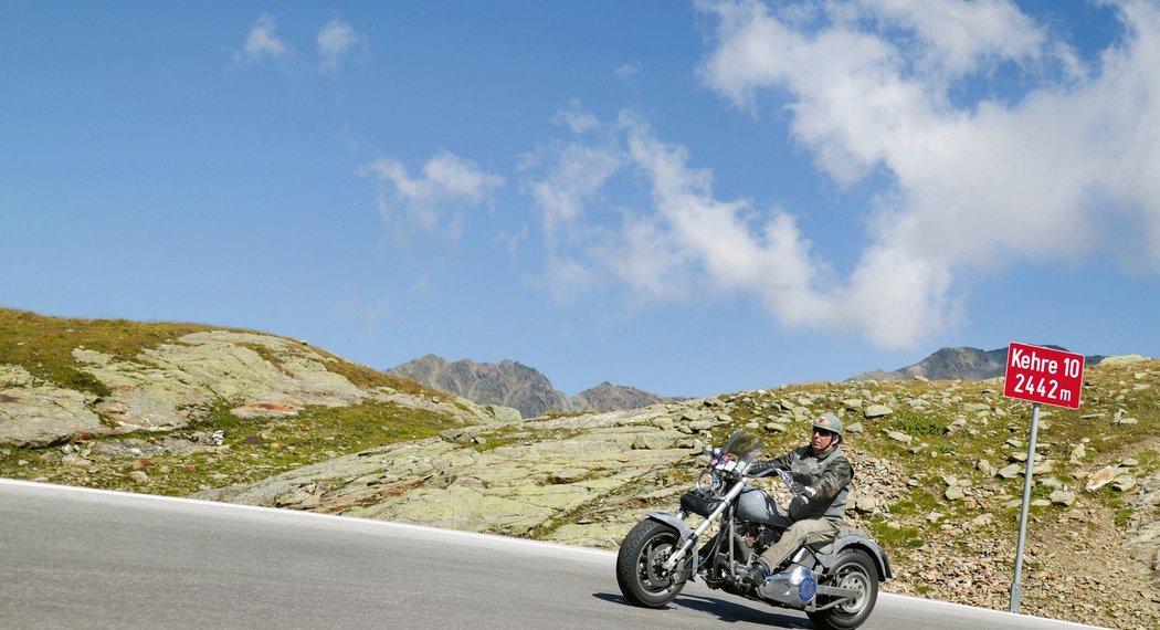 Motorradhotel im Ötztal