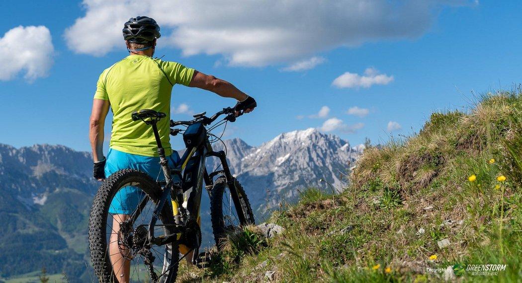 Bikeurlaub im Ötztal – E-Bike-Verleih im Jägerhof in Oetz